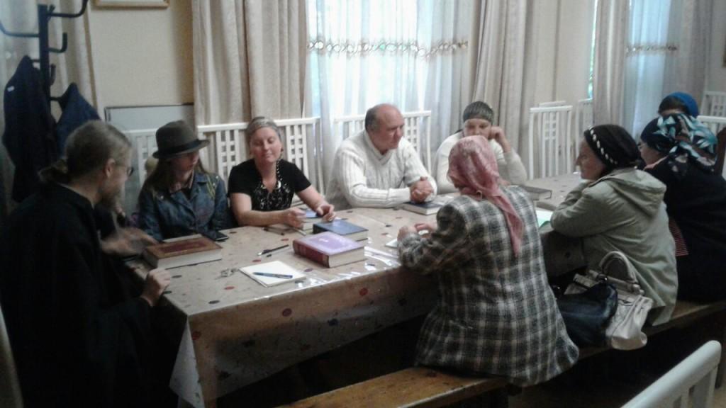 Изучаем Библию с иеродьяконом Амвросием (Дудоновым)