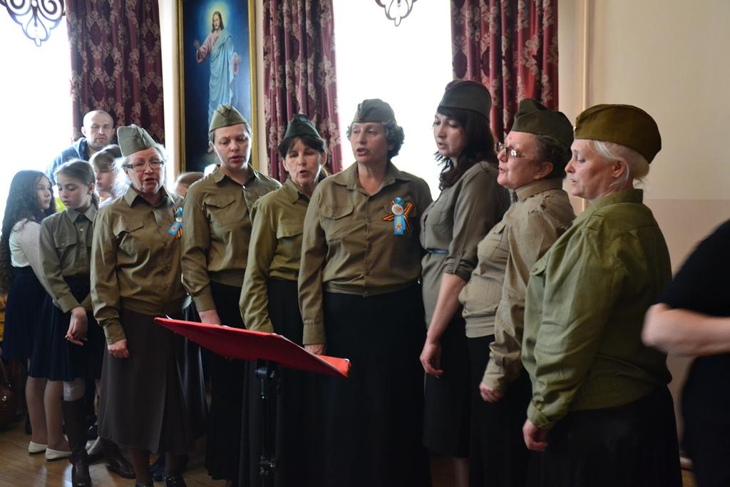 Праздничный концерт, посвященный Дню Победы.